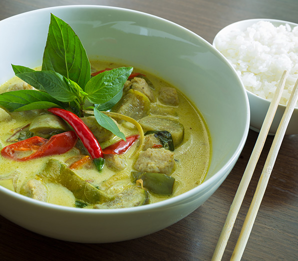 Bangkok Express Green Curry Image
